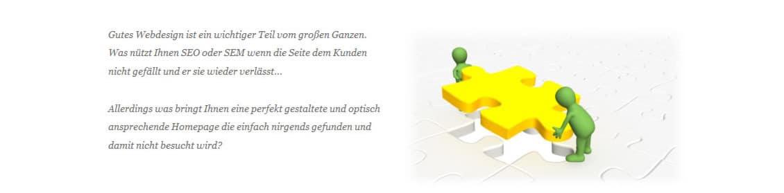 Gefunden.net Werbeagentur: Internetseiten, Webseiten, Webdesign und Homepage Konzeption für 74626 Bretzfeld
