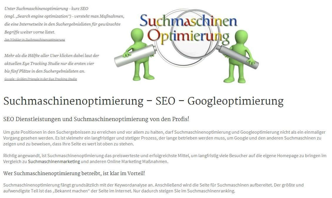 Googleoptimierung und SEOoptimierung - Gefunden.net Werbeagentur & Internetagentur