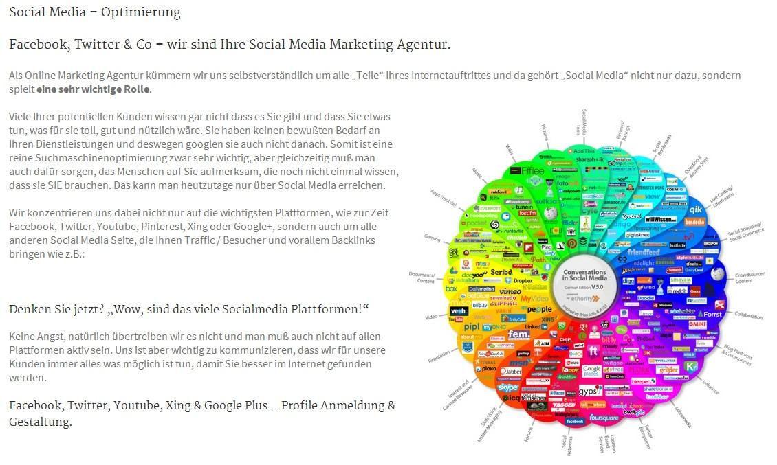 Instagram, Facebook, Vimeo, LinkedIn: Wir erzeugen Ihren SocialMedia Auftritt aus Bretzfeld als zuverlässige FullService Werbeagentur