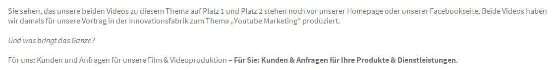 Gefunden.net Werbeagentur & Internetagentur: Videoproduktion, Video und Youtube Marketing in Bretzfeld als seriöse FullService Internetangetur
